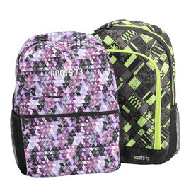 Roots Backpack with Front Pocket - Assorted