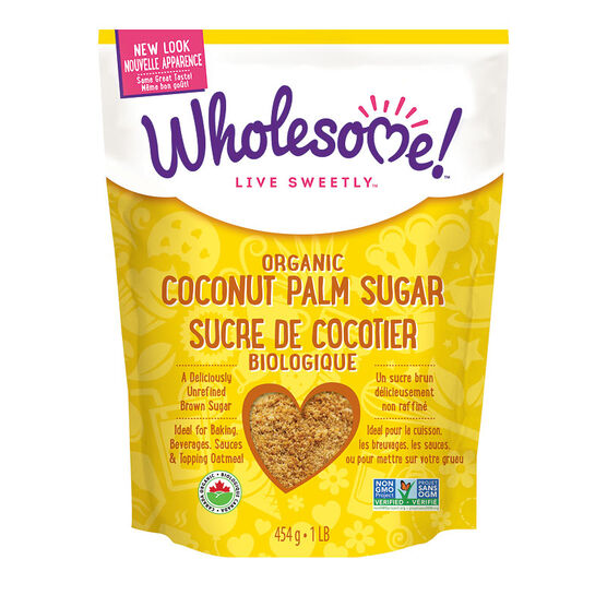 Wholesome Sweeteners Organic Coconut Palm Sugar - 454g