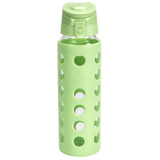 London Drugs Stainless Bottle with Silicone Sleeve - Green - 700ml
