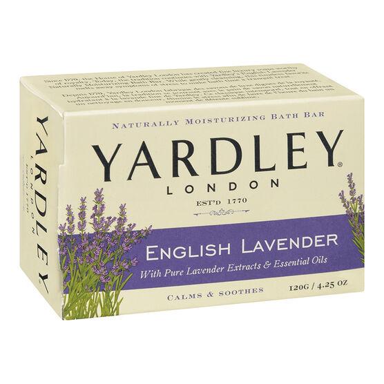 Yardley English Lavender Bath Bar Soap - 120g