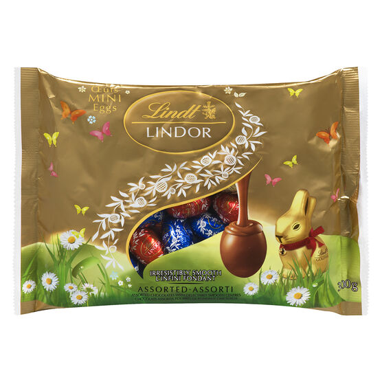 Lindt Lindor Mini Eggs - Assorted - 300g