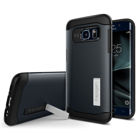 Spigen Slim Armor Case for Galaxy S7 Edge - Metal Slate - SGP556CS20025
