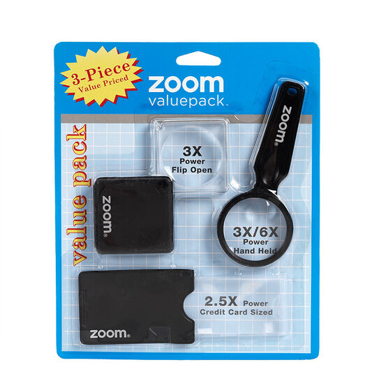 Zoom Magnifying Set - 3 piece