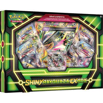Pokémon Shiny Rayquaza EX Box