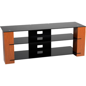 """TechPro TV Stand for TVs up to 70"""" - Black/Walnut - SG1330B"""