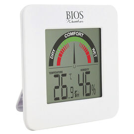 Bios Indoor Hygrometer with Comfort Scale - 258BC