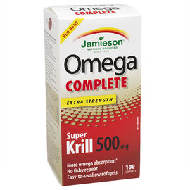 Jamieson Omega Complete Super Krill - 500mg - 100's