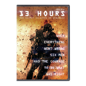 13 Hours: The Secret Soldiers of Benghazi - DVD