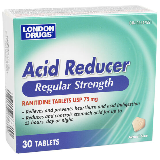 London Drugs Acid Reducer Tablets - 30's