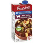 Campbell's Beef Broth - 30% low sodium - 900ml