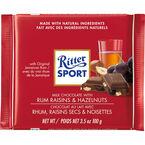 Ritter Sport - Rum, Raisins & Hazelnuts - 100g