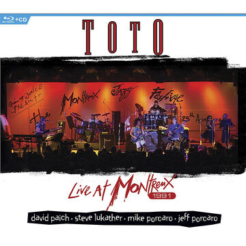 Toto: Live at Montreux 1991 - Blu-ray + CD
