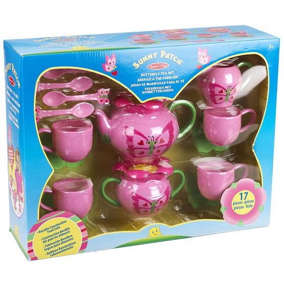 Melissa & Doug - Sunny Patch Butterfly Tea Set