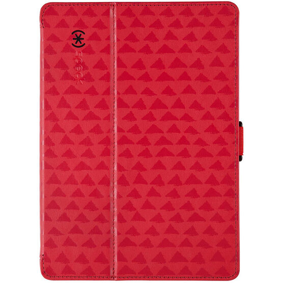 Speck FitFolio Case and Stand for iPad Air - Red/Black - SPK-71962-B903