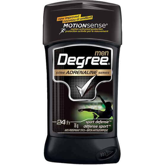 Degree Men Adrenaline Series Anti-Perspirant Stick - Sport Defense - 76g