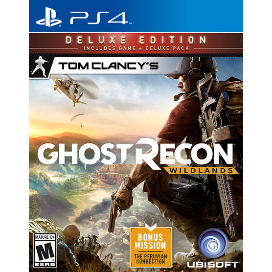 PRE-ORDER: PS4 Tom Clancy's Ghost Recon Wildlands Deluxe Edition