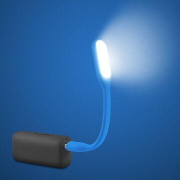 Logiix USB LED Gelly Light - Turquoise - LGX-11930