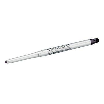 Marcelle 2-in-1 Retractable Eyeliner or Liquid Eyeliner Pen - Amethyst