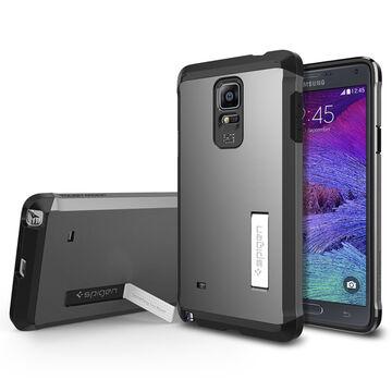 Spigen Tough Armor Case for Galaxy Note 4 - Gunmetal - SGP11139