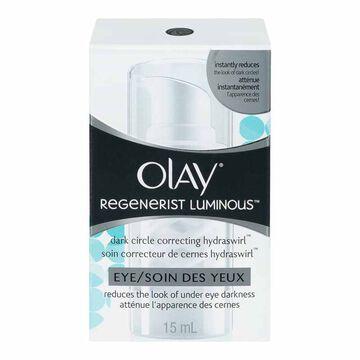 Olay Regenerist Luminous Dark Circle Correcting Hydraswirl Eye - 15ml