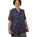 Silvert's Adaptive Open Back Blouse - Womens -23030