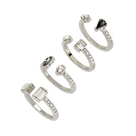Kenneth Cole Metallic Ring Set - Multi