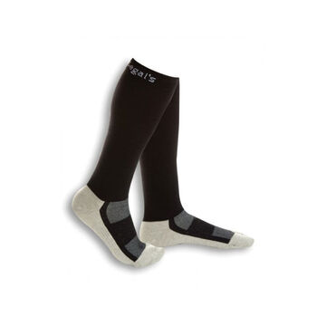 Dr. Segal's Women's Energy Socks - 5-7 - Black Gray