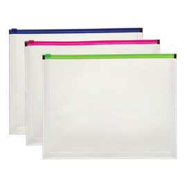 Globe-Weis Zip Envelopes - Letter Size