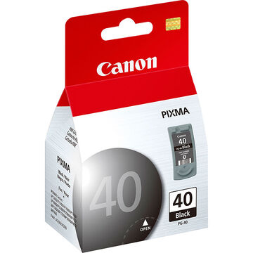 Canon PG-40 Ink Cartridge - Black - 0615B002