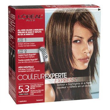 L'Oreal Couleur Experte - 5.3 Chocolate Macaroon Medium Golden Brown