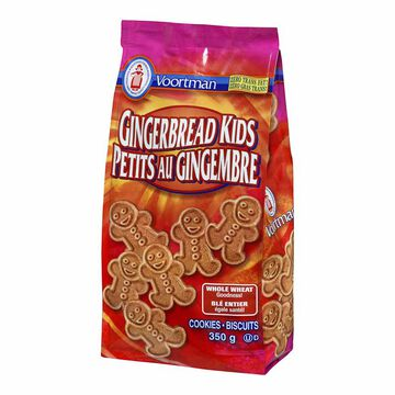 Voortman Whole Wheat Ginger Kids - 350g