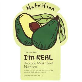TonyMoly I'm Real Avocado Mask Sheet - Nutrition