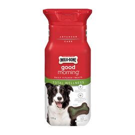 Milkbone Good Morning Daily Vitamins - Total Wellness - 170g