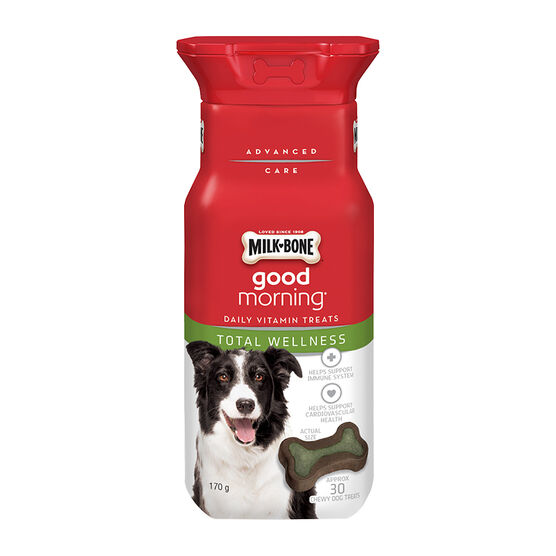 Milkbone Good Morning Daily Vitamins - Total Wellness - 170g