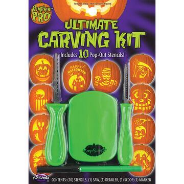 Halloween Ultimate Pumpkin Carving Kit - 14 pieces