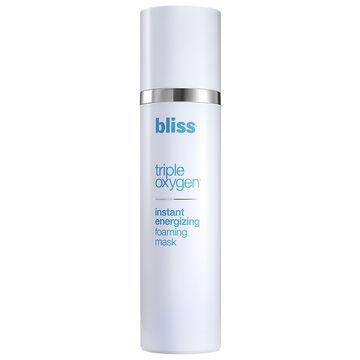 Bliss Triple Oxygen Instant Energizing Foaming Mask - 100ml