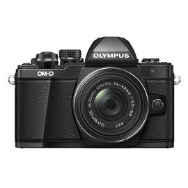 Olympus OM-D E-M10 Mark II with 14-42mm II R Manual Zoom Lens