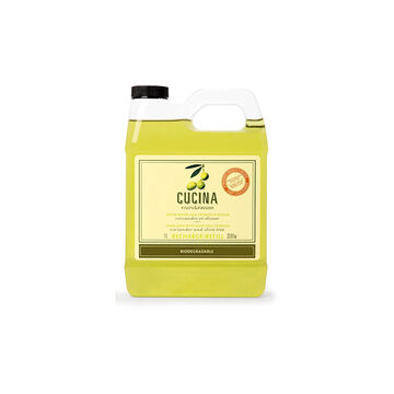 Fruit & Passion Cucina Hand Soap Refill - Coriander and Olive Tree - 1L