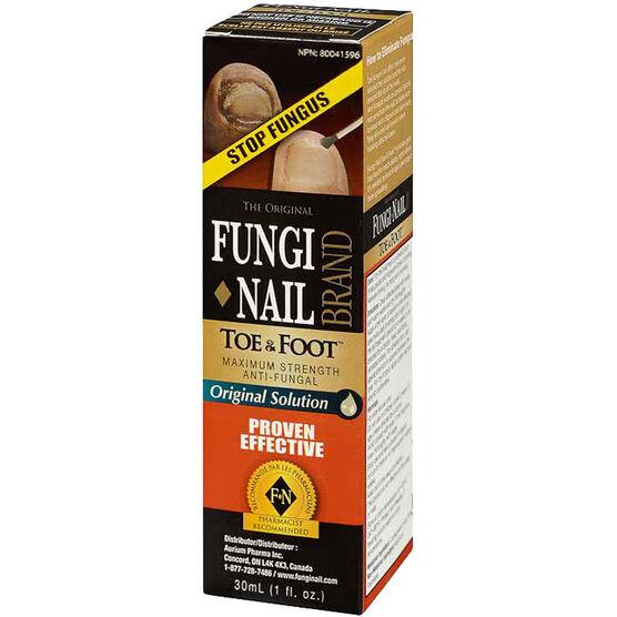 Fungi Nail Toe and Foot Liquid - 30ml