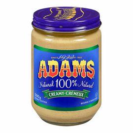 Adams Peanut Butter - Creamy - 500g