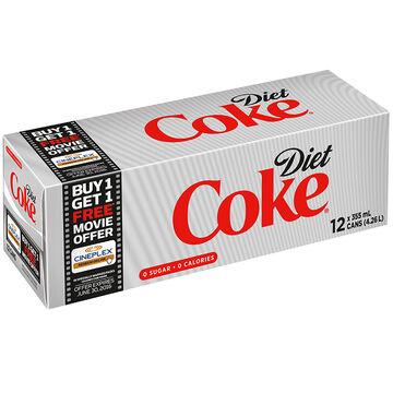 Coke - Diet - Fridge Mate - 12 pack