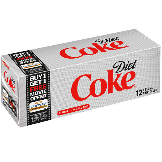Coke - Diet - Fridge Mate - 12 pack