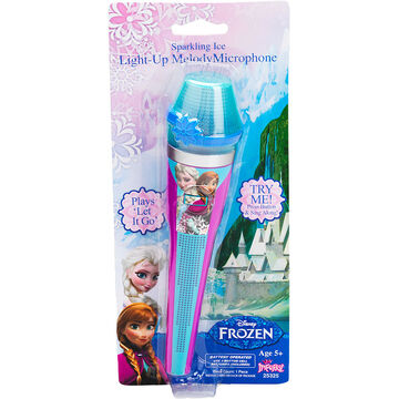 Disney Frozen Sparkling Ice Light-Up Melody Microphone