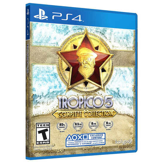 PS4 Tropico 5 Complete Collection