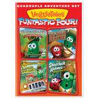 VeggieTales - Funtastic Four Quadruple Feature- DVD