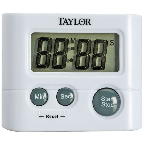 Taylor Digital Kitchen Timer - White