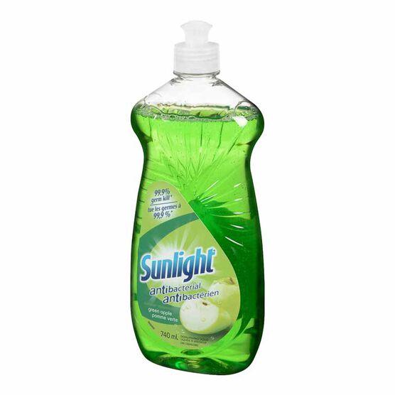 Sunlight Antibacterial Green Apple - 740 ml