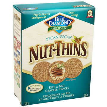 Blue Diamond Nut-Thins - Pecan - 120g