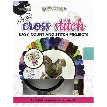 Spicebox Let's Make - Cross-Stitch