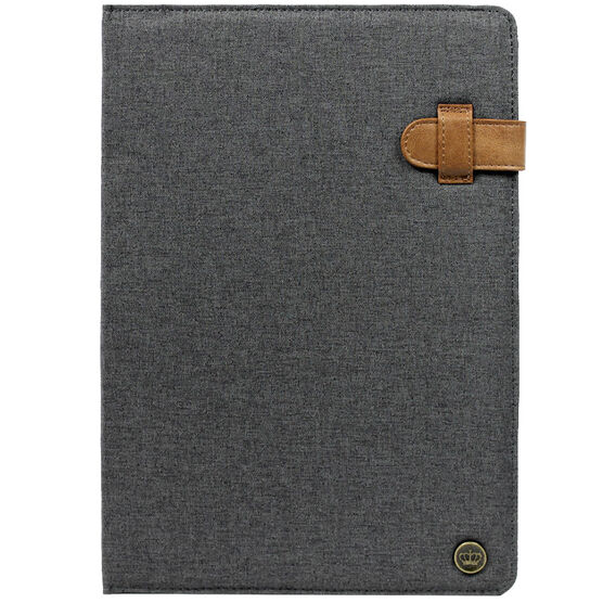PKG Universal Folio Case for 10-11-inch Tablets - Dark Grey
